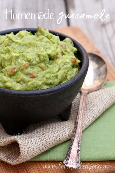 Favorite Homemade Guacamole