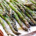 Grilled Parmesan Asparagus