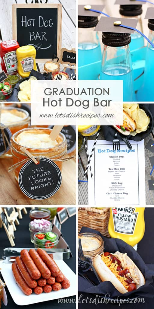 Graduation Party Hot Dog Bar