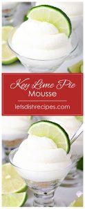 Key Lime Pie Mousse