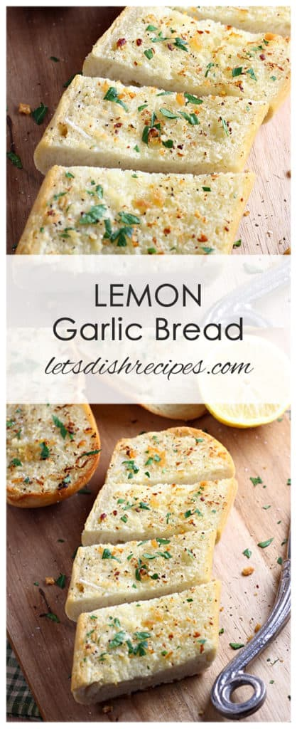 Lemon Garlic Bread