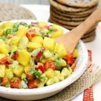 Sweet and Spicy Mango Avocado Salsa