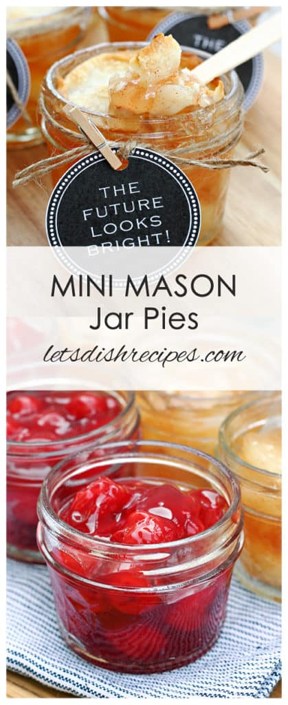 Graduation Party Hot Dog Bar and Mini Mason Jar Pies