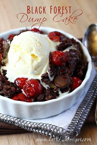 Black Forest Dump Cake Let S Dish Recipes