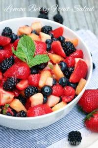 Lemon Berry Fruit Salad