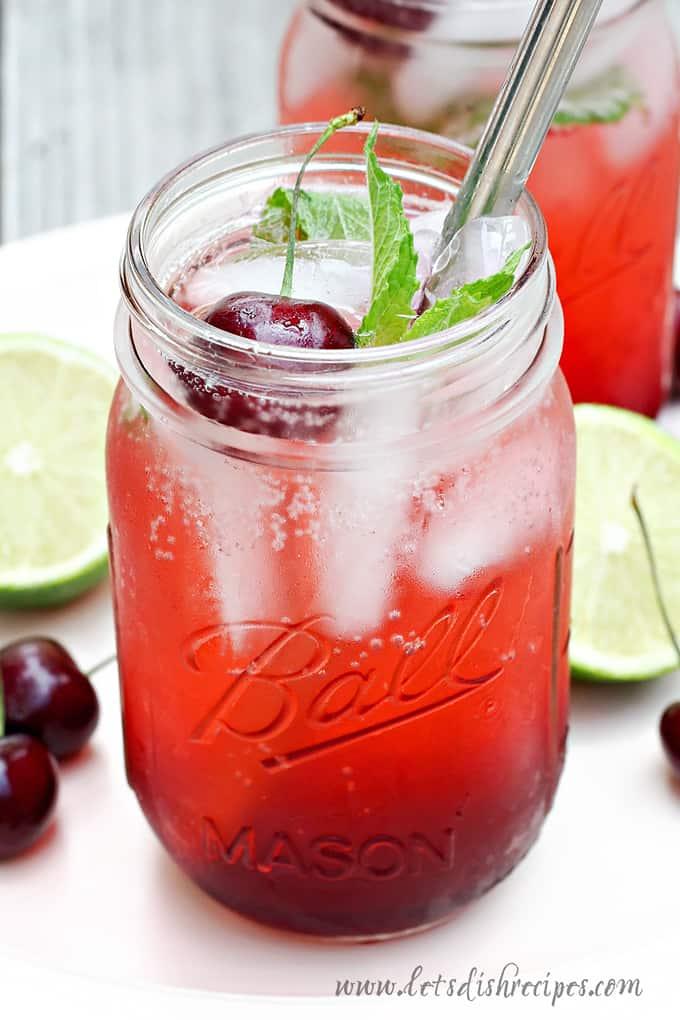Cherry Lime Spritzer