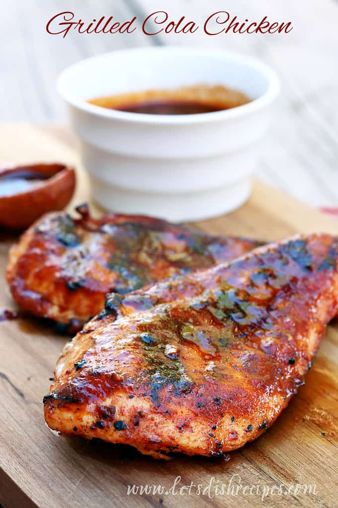 Grilled Cola Chicken