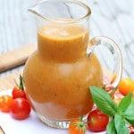 Tomato Basil Vinaigrette