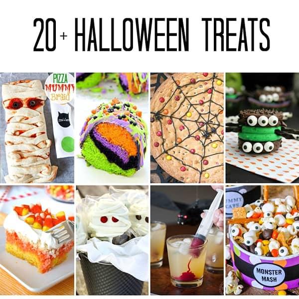 20 Plus Spectacularly Spooky Halloween Treats