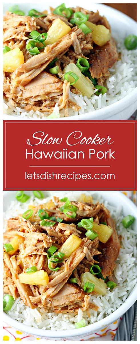 Slow Cooker Hawaiian Pork