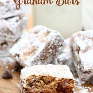 Magic Chocolate Graham Bars