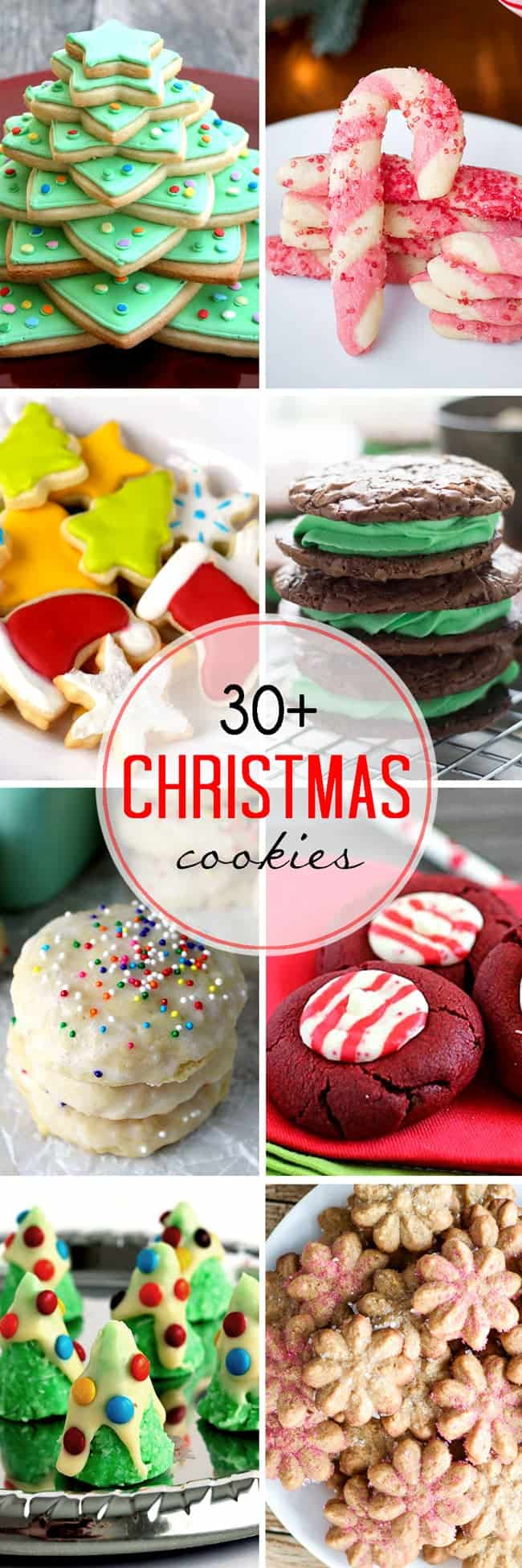 30 Plus Festive Christmas Cookie Recipes