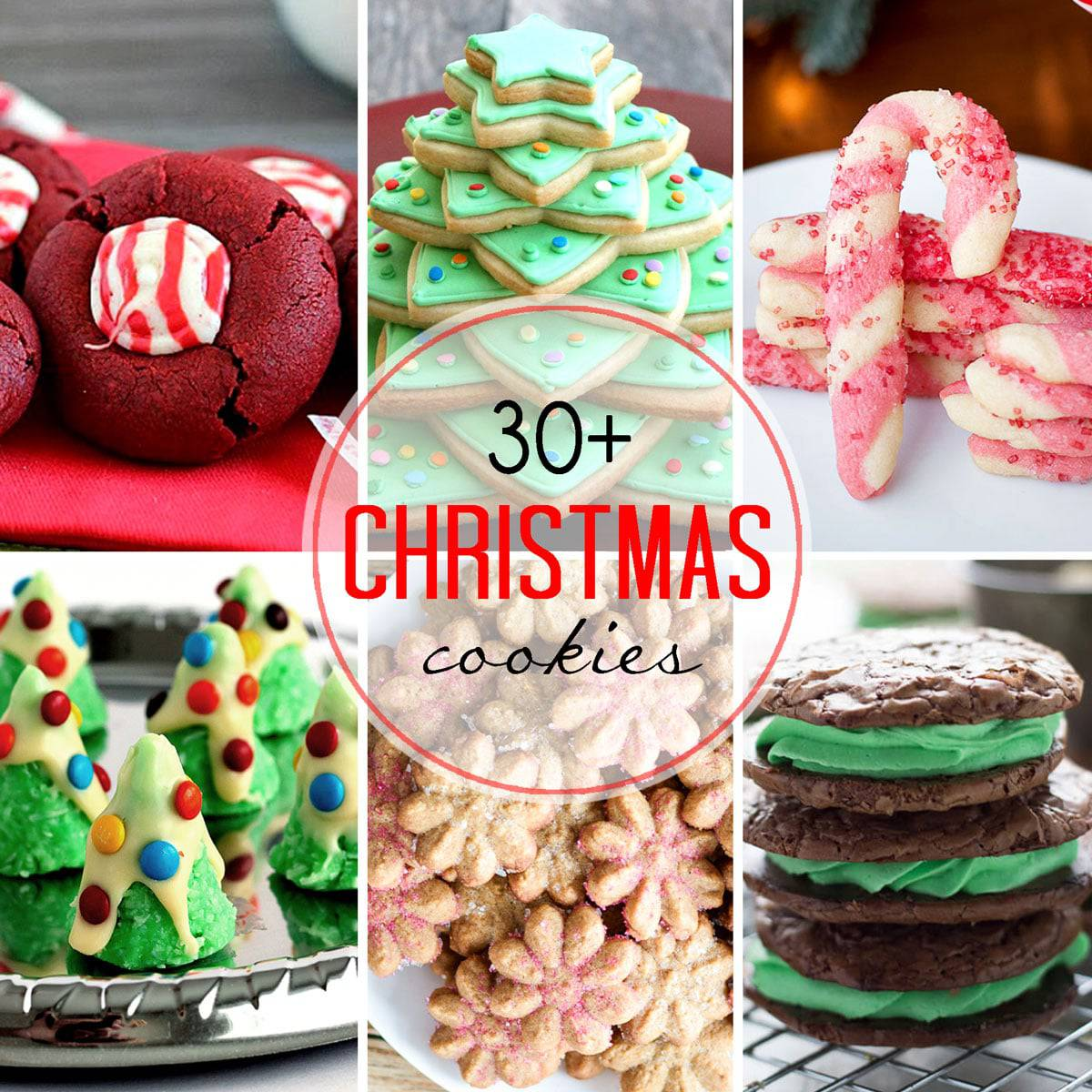Thirty Plus Festive Christmas Cookie Recipes Let S Dish Recipes