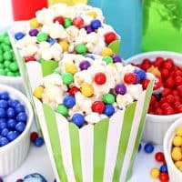 Inside Out Movie Night with White Chocolate Marshmallow Memory Orb Munch