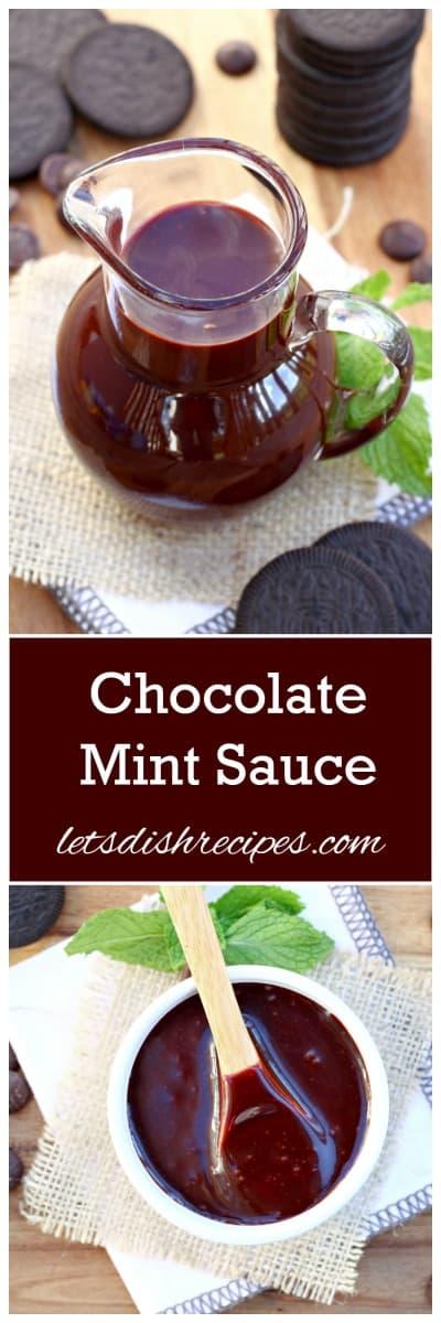 Chocolate Mint Sauce