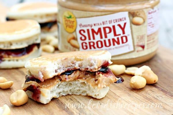Peanut Butter & Jelly Pancake Bites
