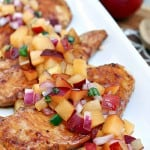 Sauteed Chicken with Fresh Plum Salsa