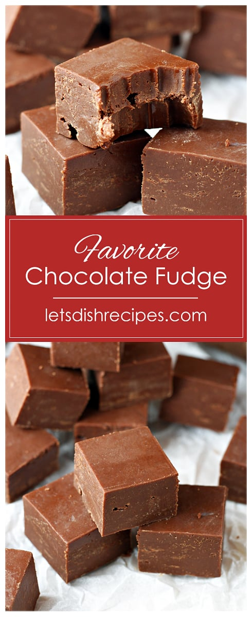 Favorite Chocolate Fudge