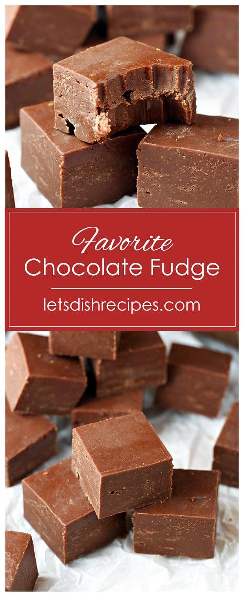 Favorite Chocolate Fudge