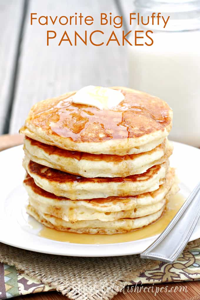 Favorite Big Fluffy Pancakes