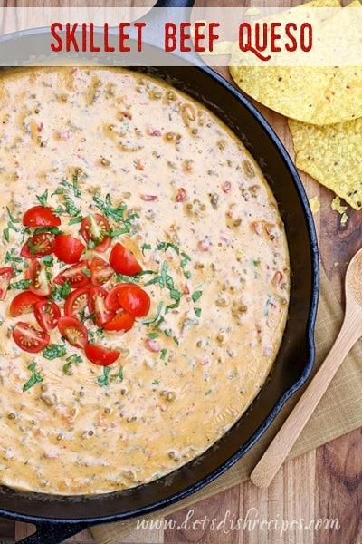 Skillet Beef Queso