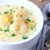 Easy Shrimp and Corn Chowder
