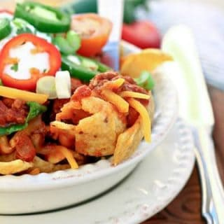 Turkey Chili Taco Bowls