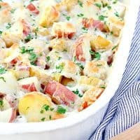 Cheesy Lemon Parsley Potatoes