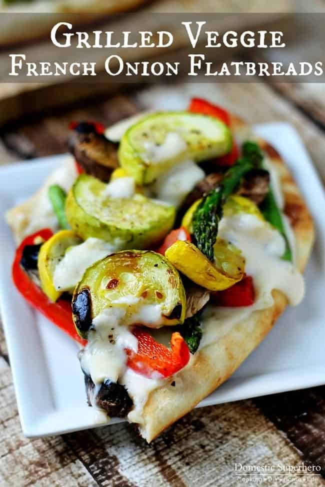 Grilled-Veggie-French-Onion-Flatbreads