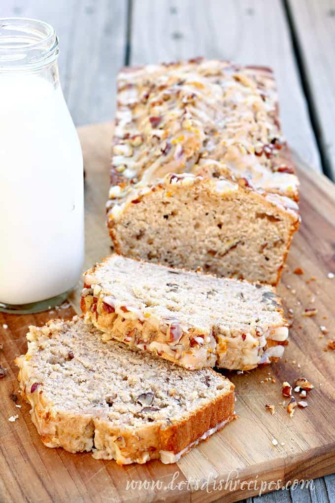 Cream Cheese Banana Nut Bread
