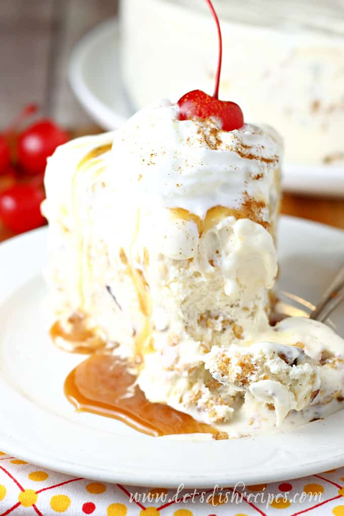 Not Fried Ice Cream Cake