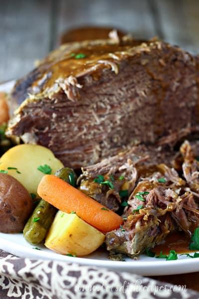 Dill Pickle Roast Beef