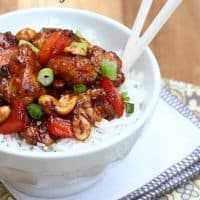 Baked Kung Pao Chicken