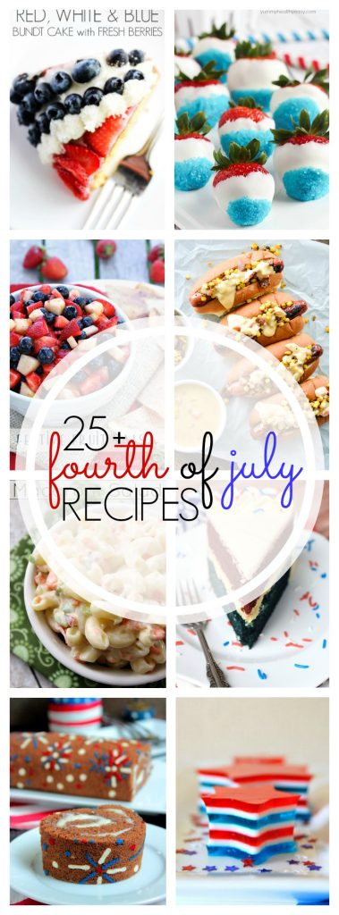 25+ Fourth of July Recipes