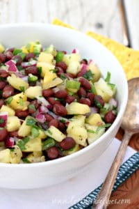 Pineapple Black Bean Salsa