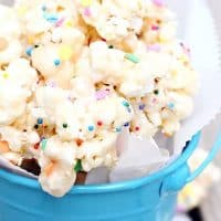 Birthday Cake Marshmallow Popcorn