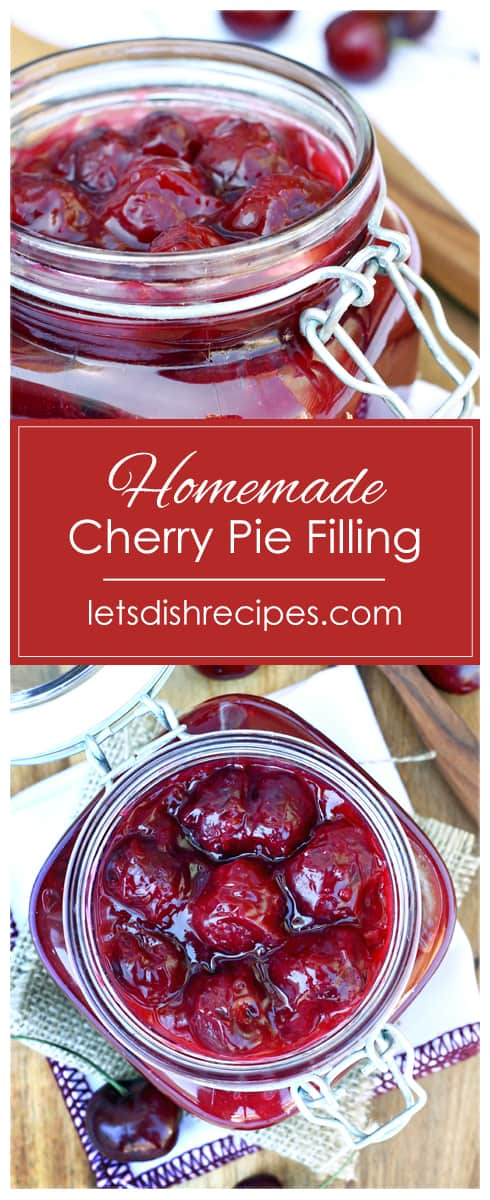 Homemade Cherry Pie Filling