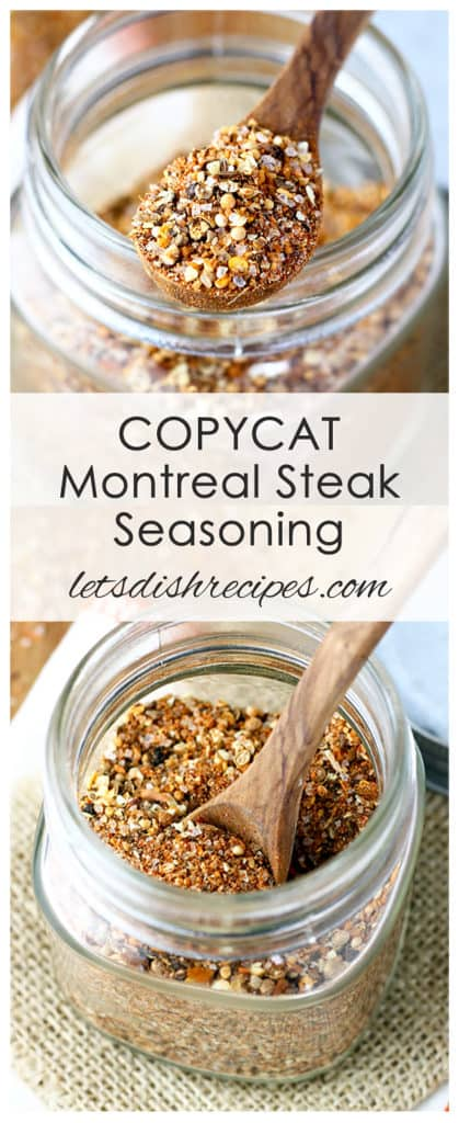 Copycat Montreal Steak Seasoning