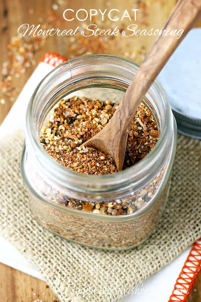 Copycat Montreal Steak Seasoning