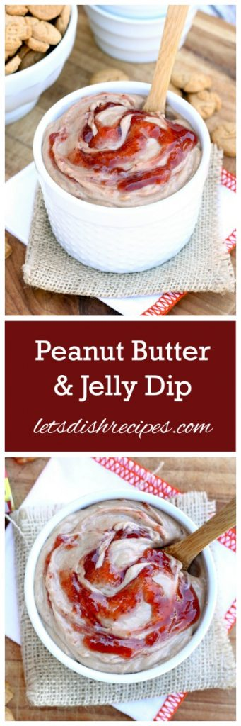 Peanut Butter & Jelly Dip