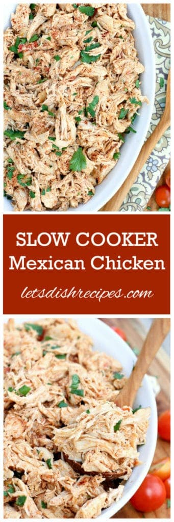 Slow Cooker Mexican Chicken Pin