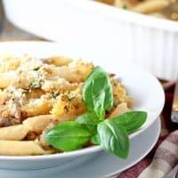 Italian Mac and Cheese Bake