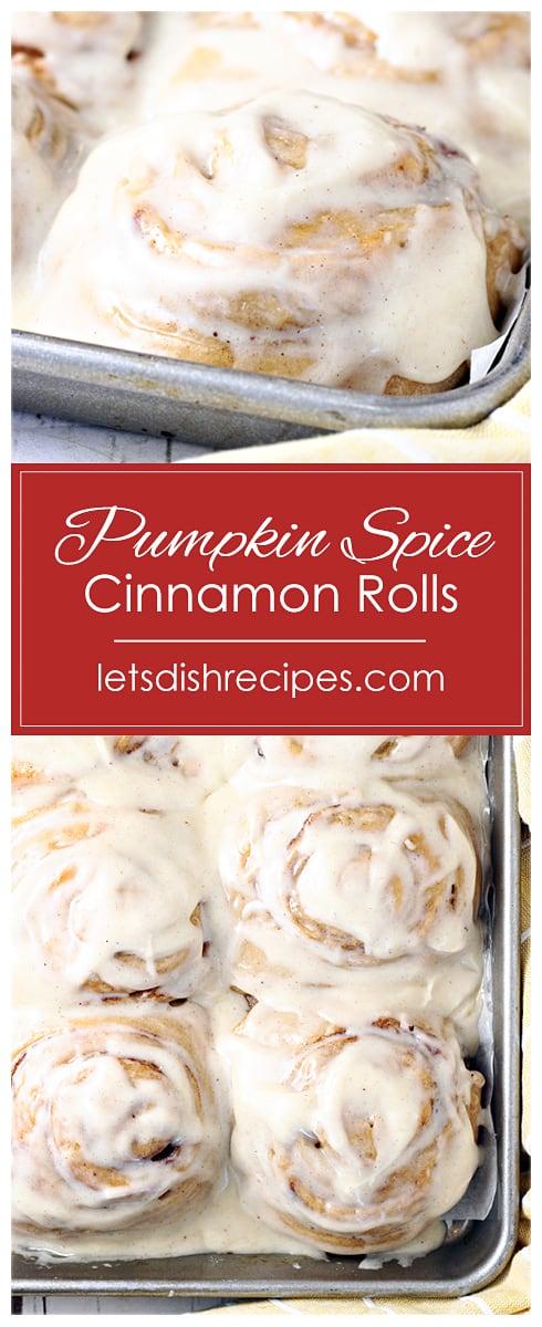 Cake Mix Pumpkin Spice Cinnamon Rolls