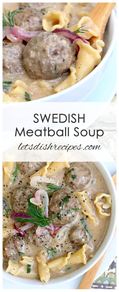 Swedish Meatball Soup