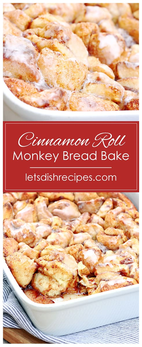 Cinnamon Roll Monkey Bread Bake