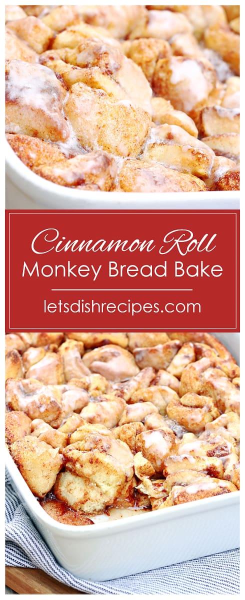 Cinnamon Roll Monkey Bread Bake