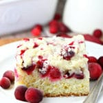 Cranberry Orange Crumb Cake