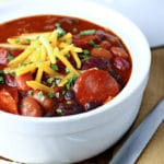 Barbecue Smoked Sausage Chili