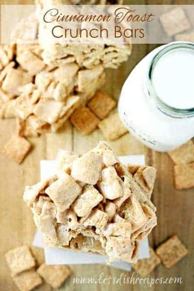 Cinnamon Toast Crunch Bars