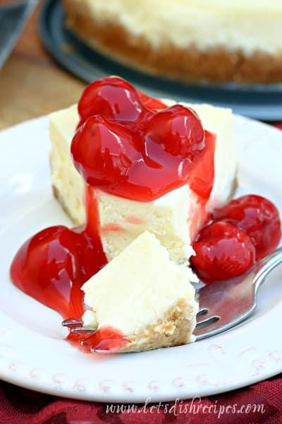 Pressure Cooker New York Cheesecake